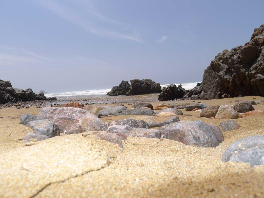 Moroccan Atlantic beach